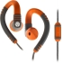 Explore Talk Earphone Gray/Orange w/1 Button Mic