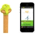 Zepp Baseball swing analyzer in Electric Yellow