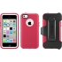 Defender Case for Apple iPhone 5c in Cotton Candy