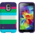 M-Edge Echo Case for Samsung GS5 in Summer Stripes