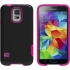 M-Edge Echo Case for Samsung GS5 in Black/Pink