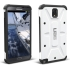 Composite Case for Galaxy Note 3, White/Black