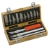 Precision knife kit, 13 piece/ 1 set
