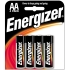EVERREADY Energizer Alkaline AA Battery 4 pack