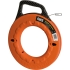 Fish Tape,Hi-Viz Orange 240' Flat Steel