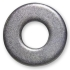 Galvanized Flat Washer - 1/2&quot;.