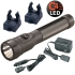 Polystinger LED Flashlight with chargers - black