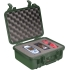 Equipment case, foam Green,2 x 9 1/16 x 5 3/16